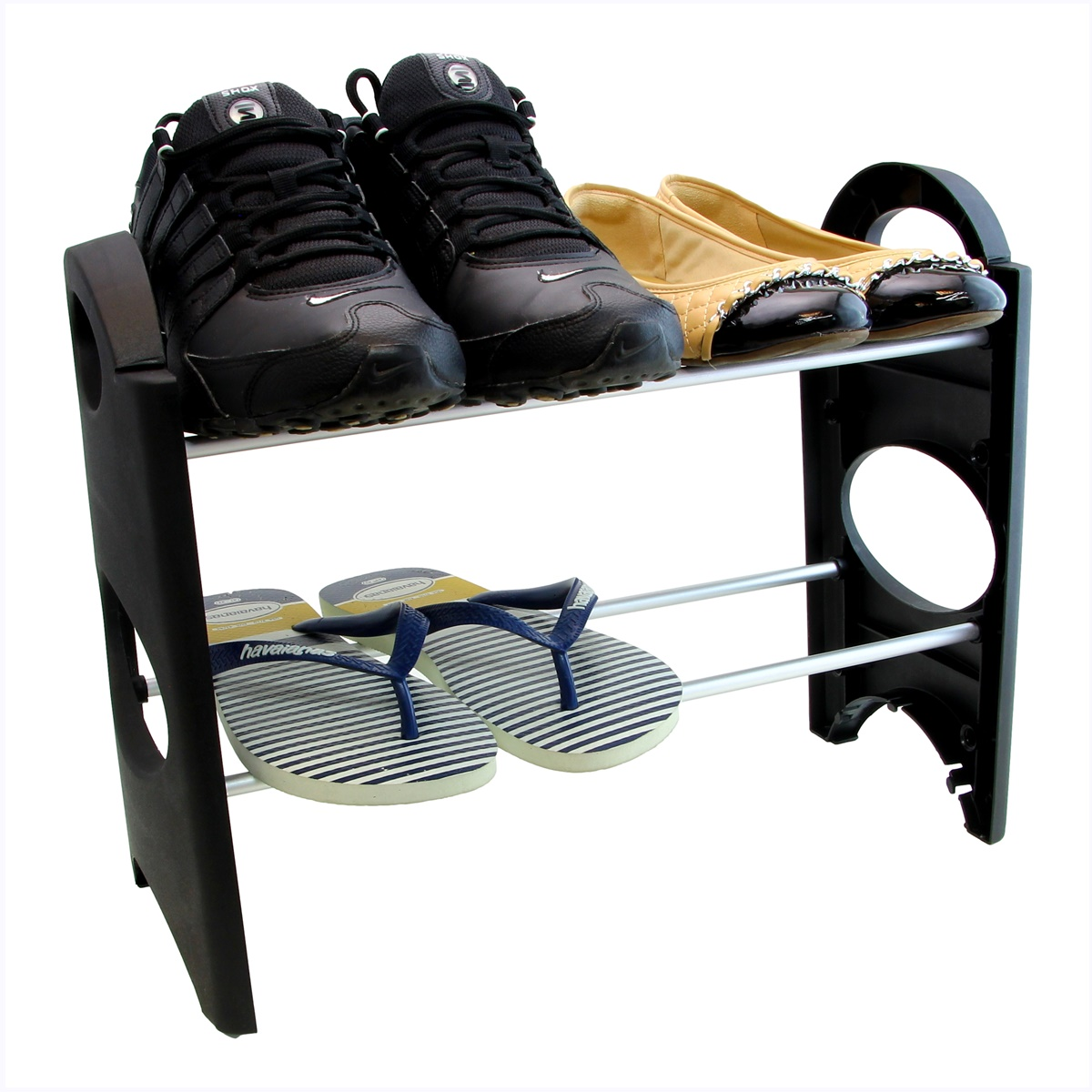 Sapateira Pequena Para Hall De Entrada Porta varias cores 8 Sapatos SAP-2A-4P-R