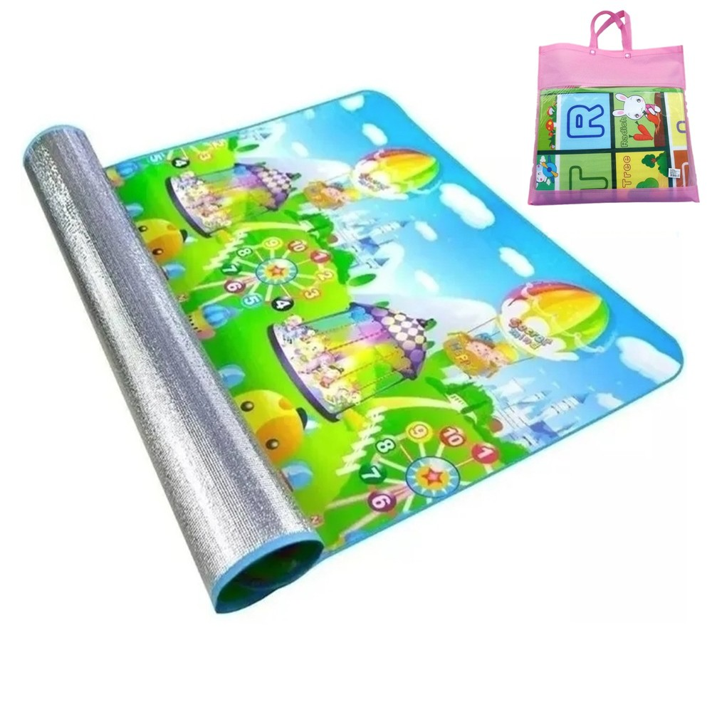 Tapete Atividades Infantil Bolsa 1,20x1,80 Isolante Térmico IM43005