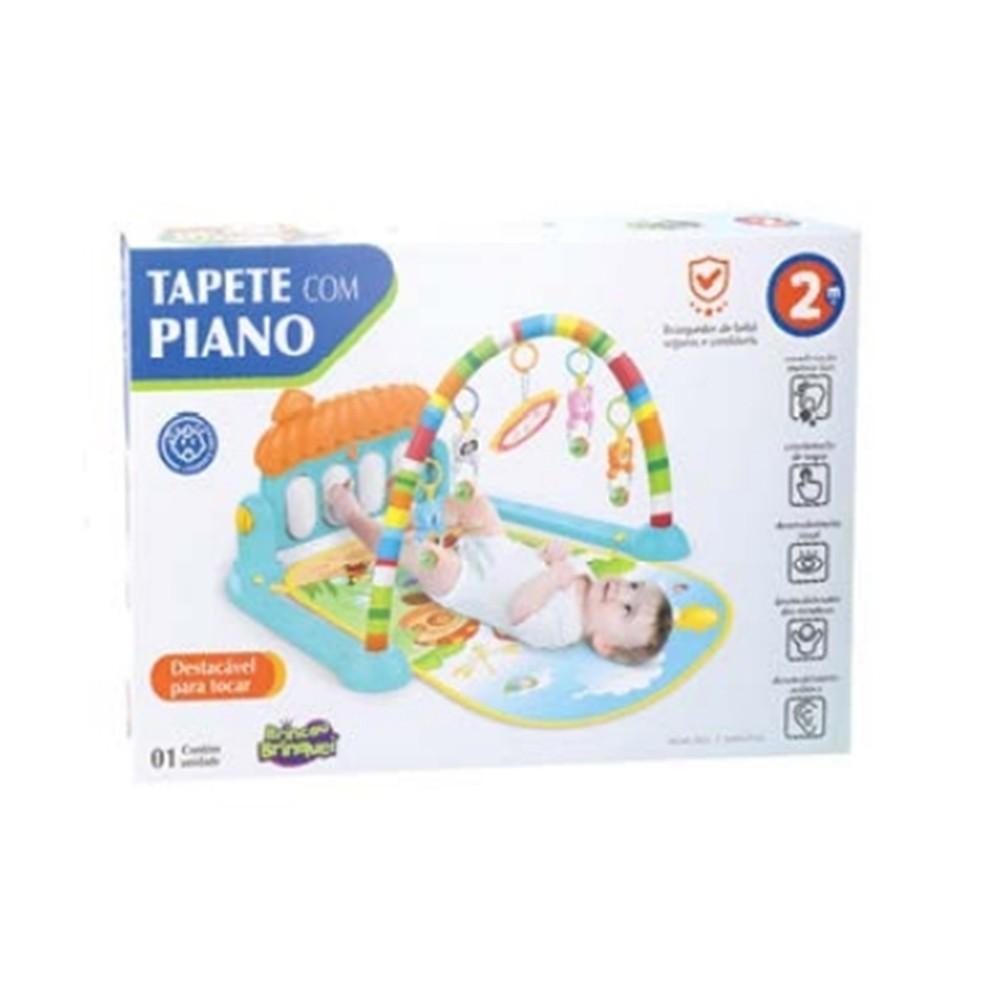 Tapete De Atividades Para Bebê com Piano Musical IN13420