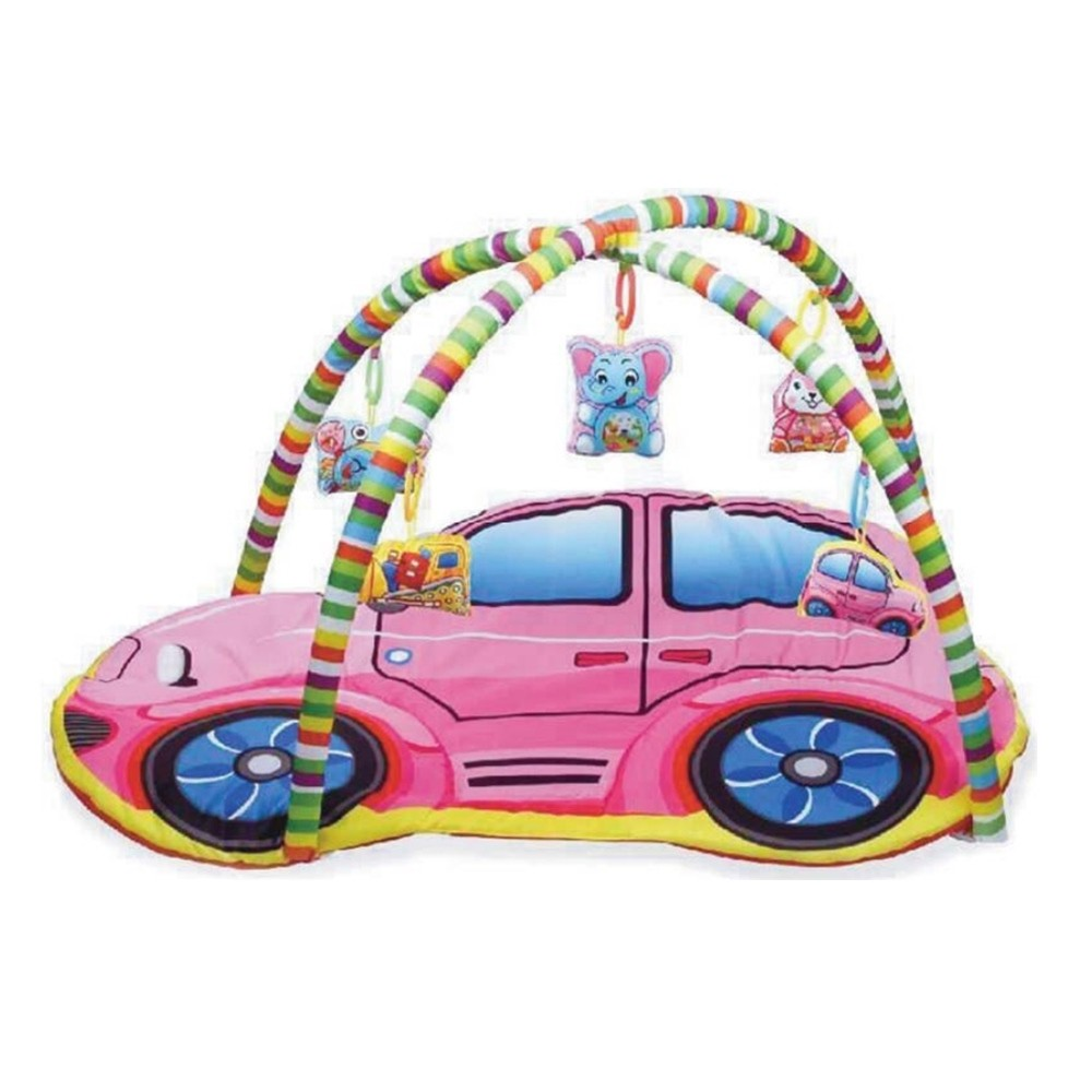 Tapete De Atividades Para Bebê formato de carro IN13421