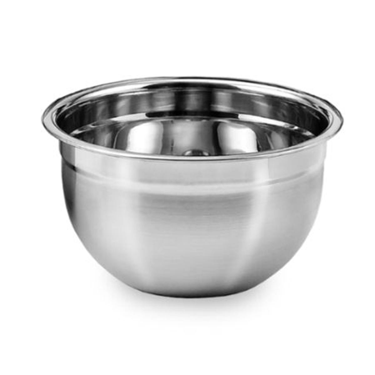 Tigela Mixing Bowl em aço Inox 30 Cm  Ke Home 3116-30-1