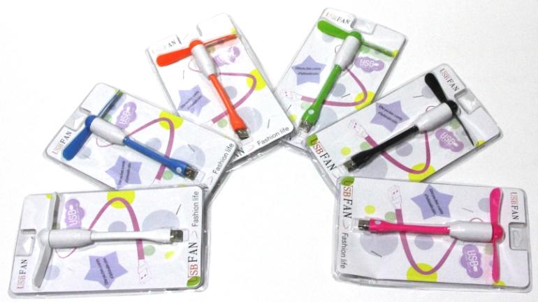 Ventilador Usb Portatil Notebook Mini Fan Haste Flexive 7665