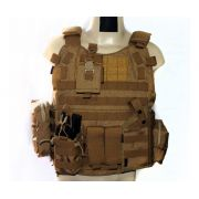 Colete - Combo Tactical II - Coyote Brown