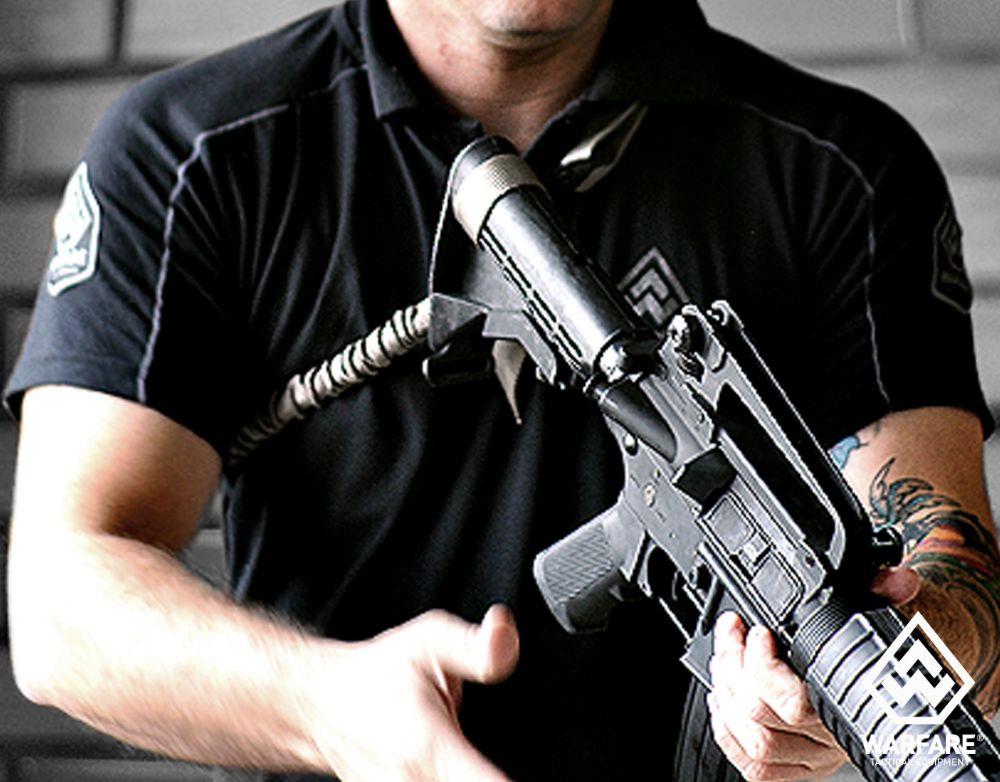 Bandoleira c/ passador  - 1 Ponto - Warfare - Coyote Brown