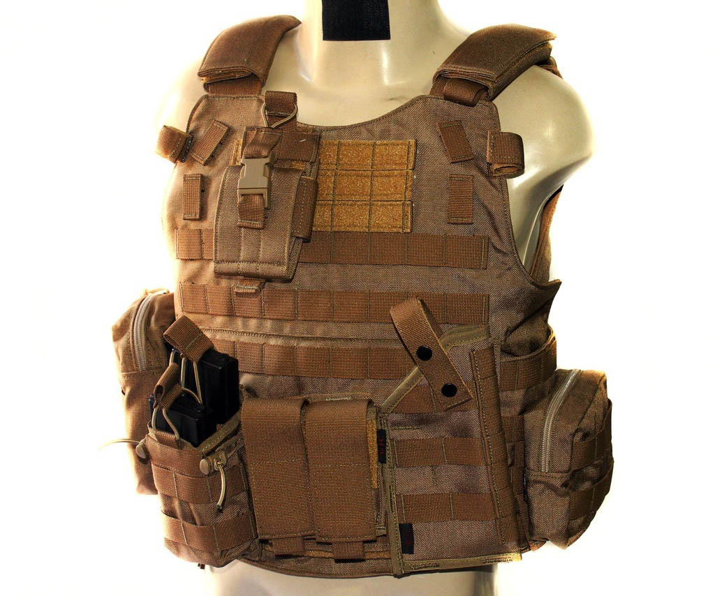 Colete - Combo Tactical II - Coyote Brown