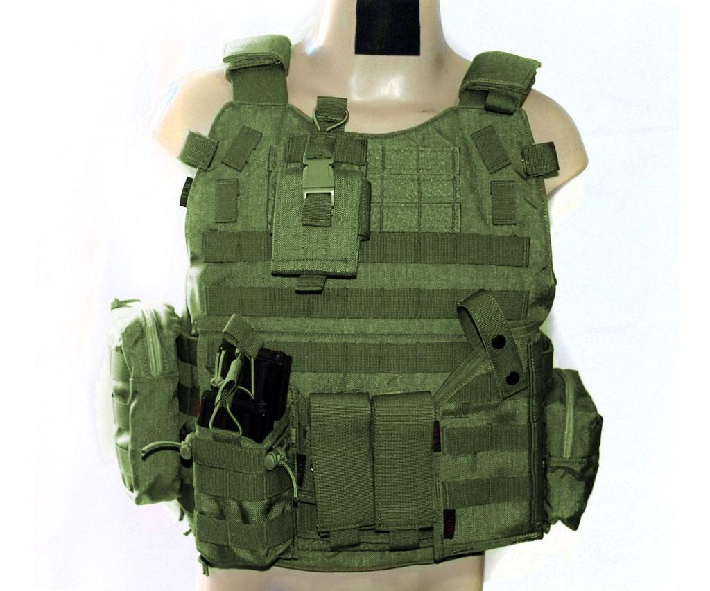 Colete - Combo Tactical II - Oliva