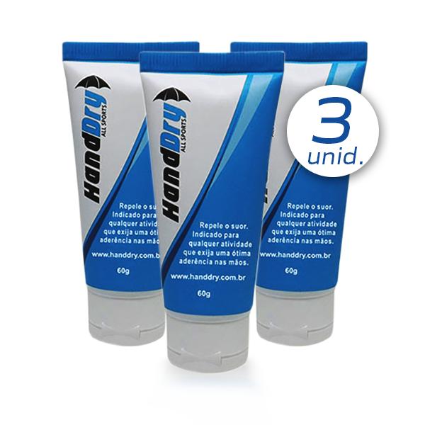 Hand Dry (Combo 3 unids) - Gel Anti-transpirante (Tenis, Squash, Tenis, Bech tenis, Poli dance, CrossFit)