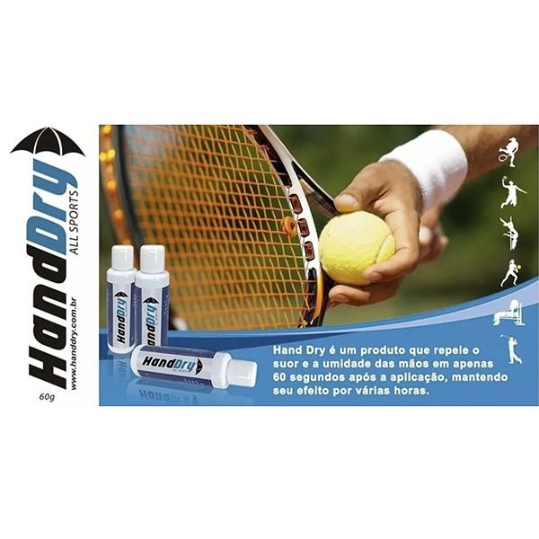 Hand Dry - Gel Anti-transpirante (Tenis, Squash, Tenis, Bech tenis, Poli dance, CrossFit)