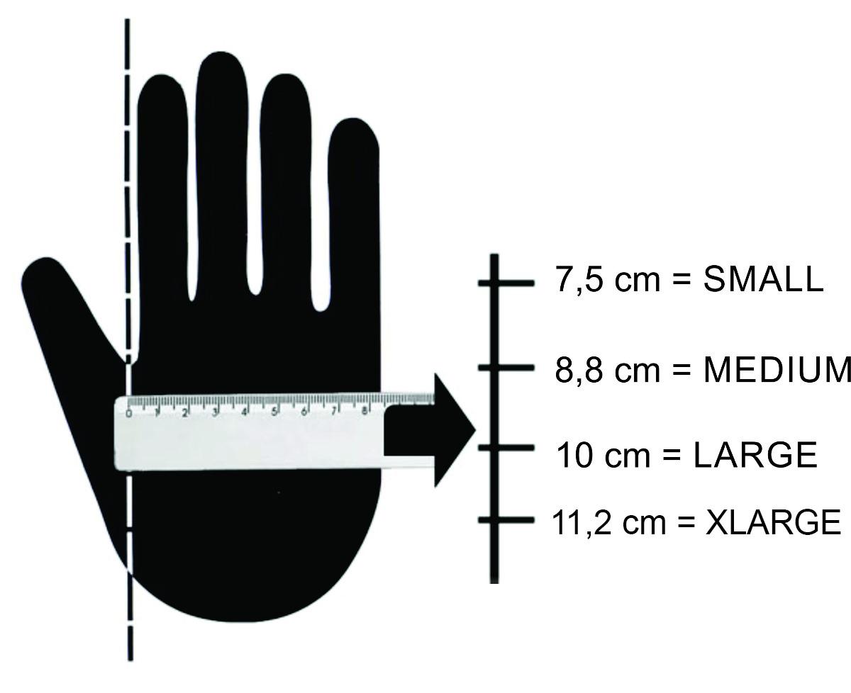 Luva MECHANIX - M-PACT - Black Covert