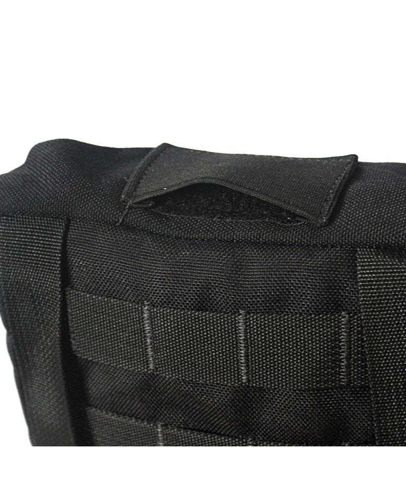 Porta bolsa de hidratação c/ manta térmica - WTC - Preto