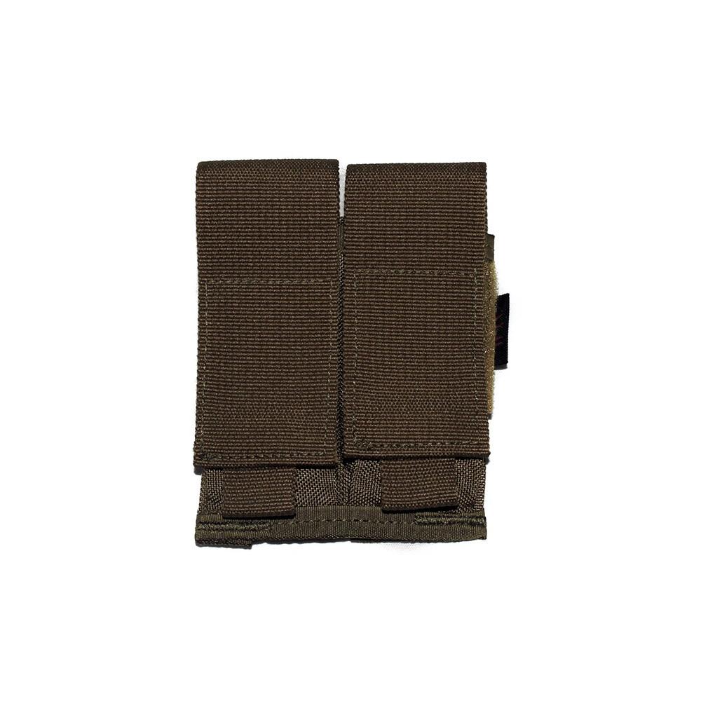 Porta carregador duplo de pistola - WTC - Coyote