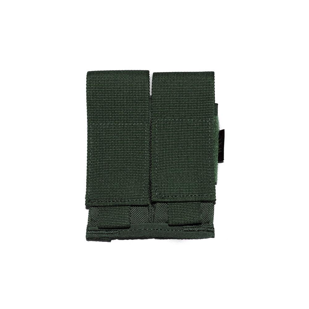 Porta carregador duplo de pistola - WTC - Verde Oliva