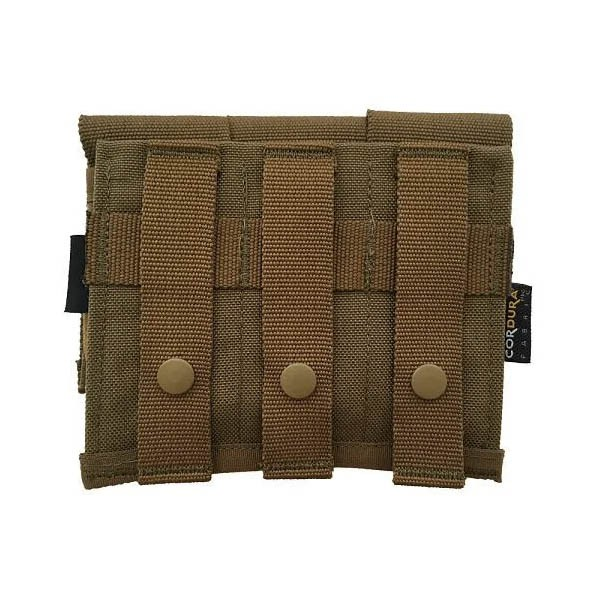 Porta Carregador Triplo de pistola - WTC - Coyote