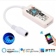 Controladora para fita RGB via Wi-fi Alexa Google Assistent