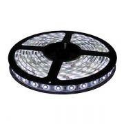 Fita LED 5050 Branco Frio Rolo 5m com fonte 12V 2A