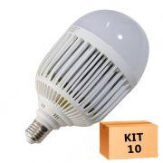 Kit 10 Lâmpada Led Bulbo 36W Branco Frio