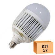 Kit 12 Lâmpada Led Bulbo 36W Branco Frio