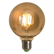 Lâmpada de Filamento de LED G95 Squirrel Cage Cage 4W 110V Dimerizável