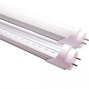 Lâmpada Led Tubular T8 18W 120 cm bivolt Branco Frio Leitosa