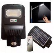 Luminária Pública Led 20w Solar Integrada