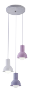 LUSTRE PENDENTE COLLECTION TRIO COLORS M1  (RS/LL/BRANCO) STARTEC