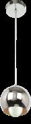 Lustre Pendente Orbit 1 Cromado Startec