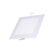 Plafon Led de EMBUTIR QUADRADO <br/>06W - 12,5 x 12,5 cm Branco Frio 6000K