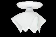 Plafon Tulipa Branco Auremar