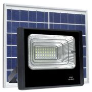 Refletor LED Solar 50W Branco Frio