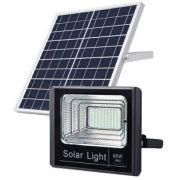 Refletor LED Solar 60W Branco Frio
