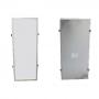 Kit 10 Plafon Led de Embutir Retangular  36W - 30 x 60 cm Branco Frio 6000K