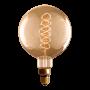 Lâmpada de Filamento de Carbono G200 Supersize Spiral 60W 110V