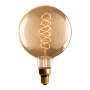 Lâmpada de Filamento de Carbono G200 Supersize Spiral 60W 220V