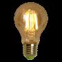 Lâmpada de Filamento de LED A19 Squirrel Cage Cage 4W 110V Dimerizável