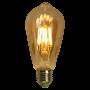 Lâmpada de Filamento de LED ST64 Squirrel Cage Cage 4W 110V Dimerizável