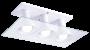 Plafon Multhi Quadrado 3 Bc Startec
