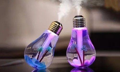 Aromatizador de LED modelo Bulbo