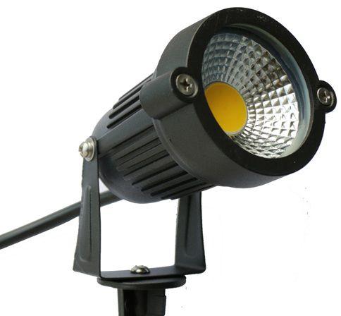 Espeto LED 5W para Jardim Branco Frio 6000K