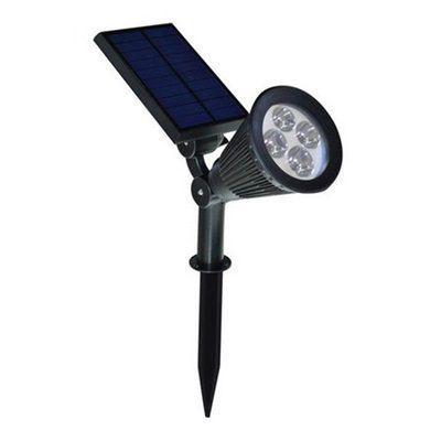 Espeto LED Solar Para Jardim 3w