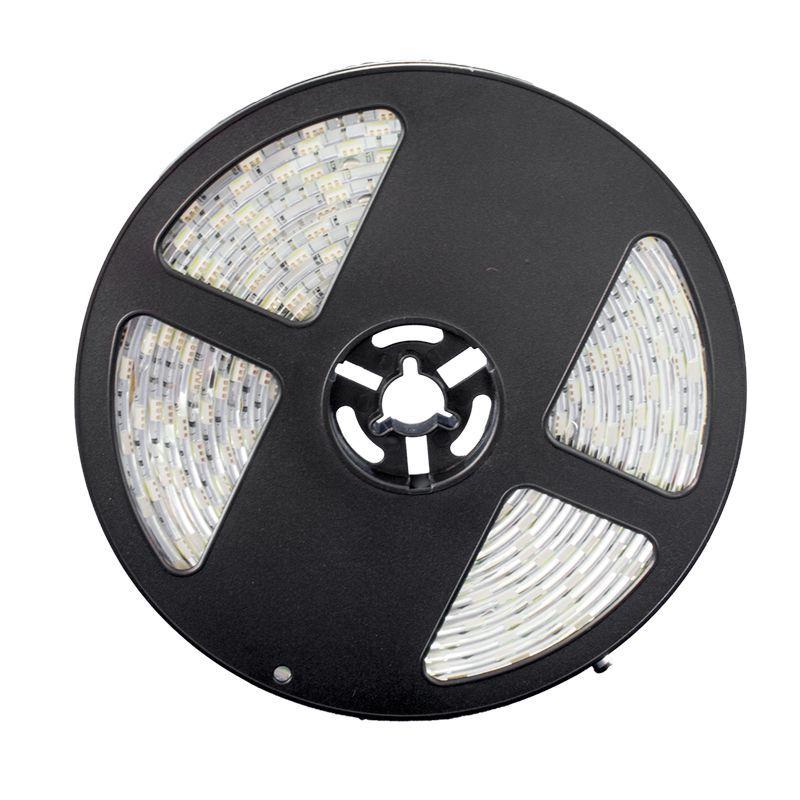 Fita LED 3528 Branco Frio Rolo 5m com fonte 12V 2A