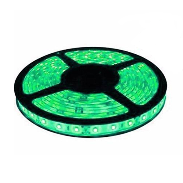 Fita LED 5050 Verde Rolo 5m com fonte 12V 2A