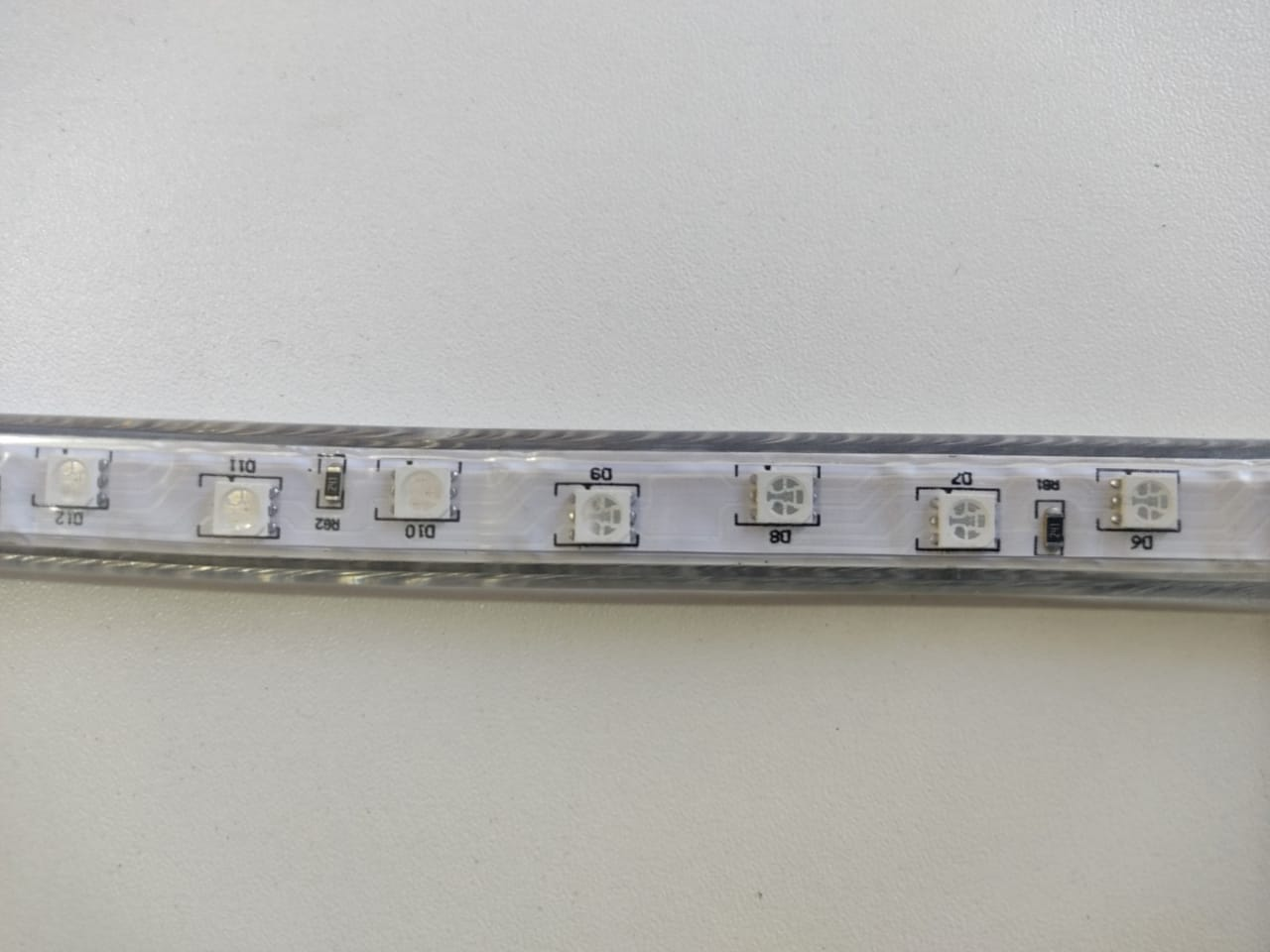 Fita LED RGB 5050 11m Premium Grossa Resistente e Fonte 220v
