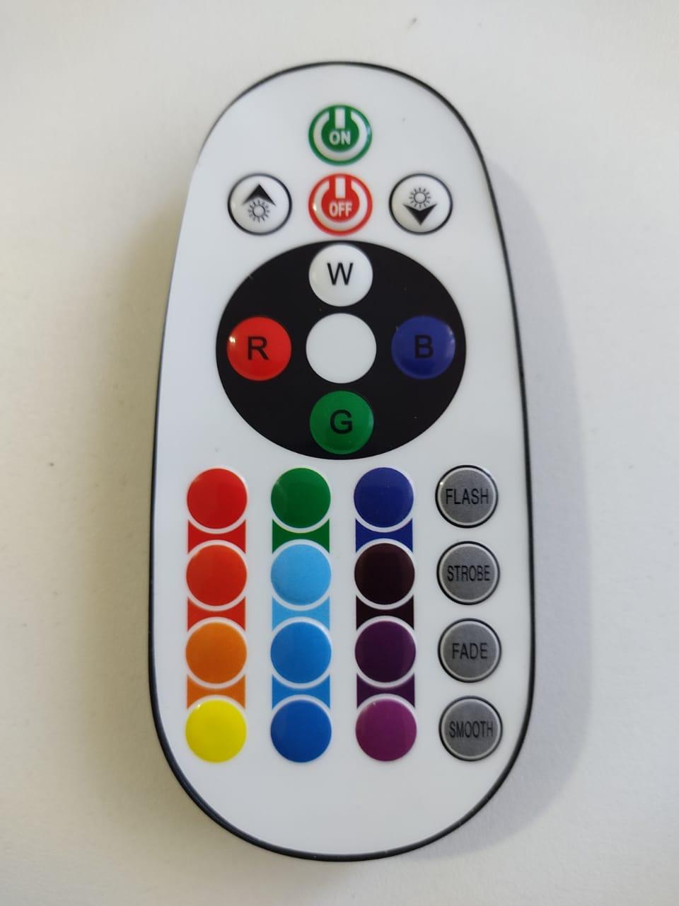 Fita LED RGB 5050 24m Premium Grossa Resistente e Fonte 220v