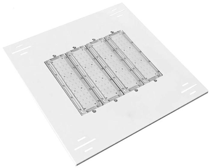 Luminária de Posto de Combustível 4 módulos 140W 16.000 Lumens Branco Frio