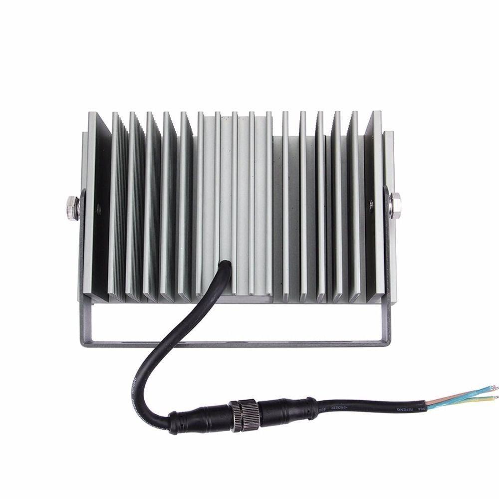 Kit 10 Refletor Modular de LED 50w Branco Frio À Prova D'agua IP68