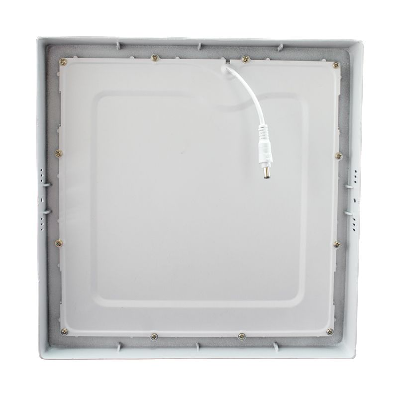 Kit 15 Plafon Led de Sobrepor Quadrado  32W - 30 x 30 cm Branco Frio 6000K