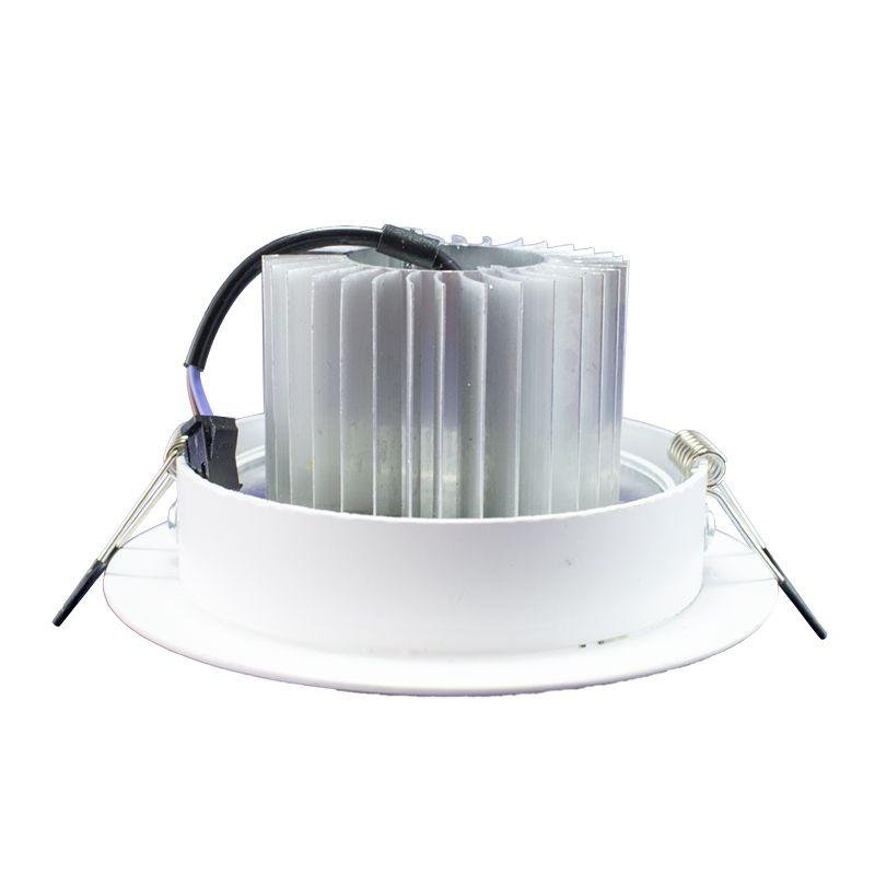 Kit 15 Spot Led Direcionável Redondo 5W Branco Frio 6000K