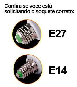 Kit 5 Lâmpada Led Vela 03W Soquete E27 Branco Frio