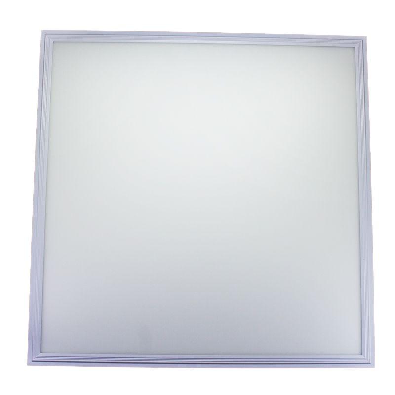 Kit 5 Plafon Led de Embutir Quadrado  45W - 60 x 60 cm Branco Frio 6000K