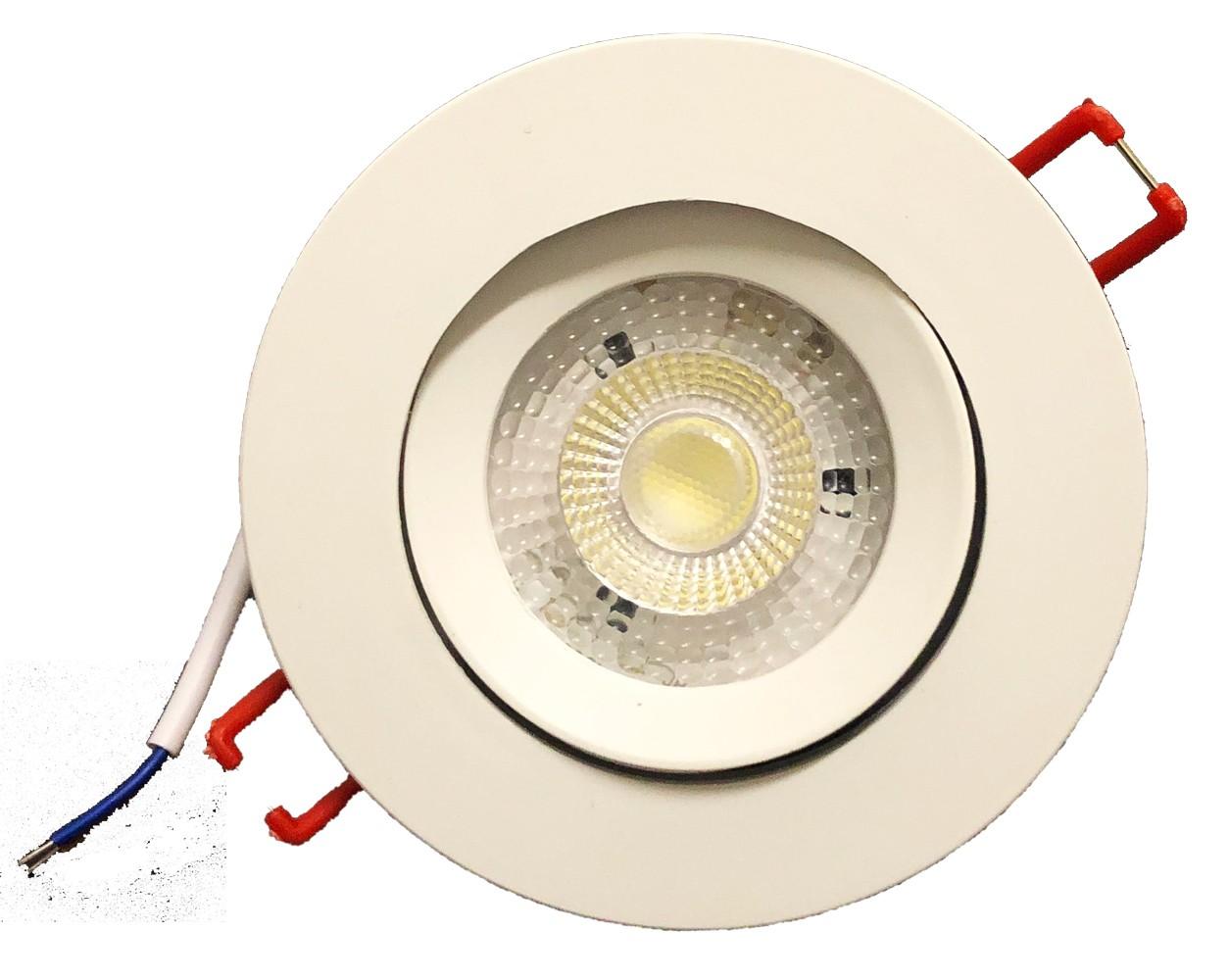 Kit 7 Spot Super Led 3w Branco Frio e 3 branco quente